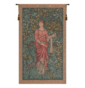 Green Pomona French Decor Wall Tapestry