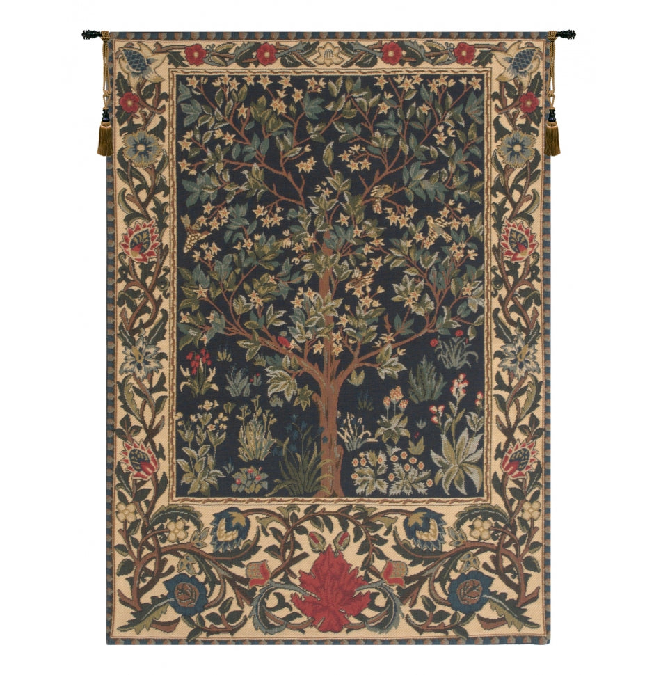 Tree of Life I European Wall Hanging Tapestry