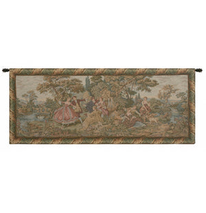 Scenes Galantes Italian Wall Hanging Tapestry