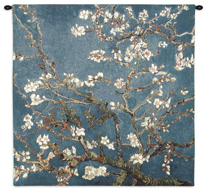 Almond Blossom by Van Gogh Woven Tapestry