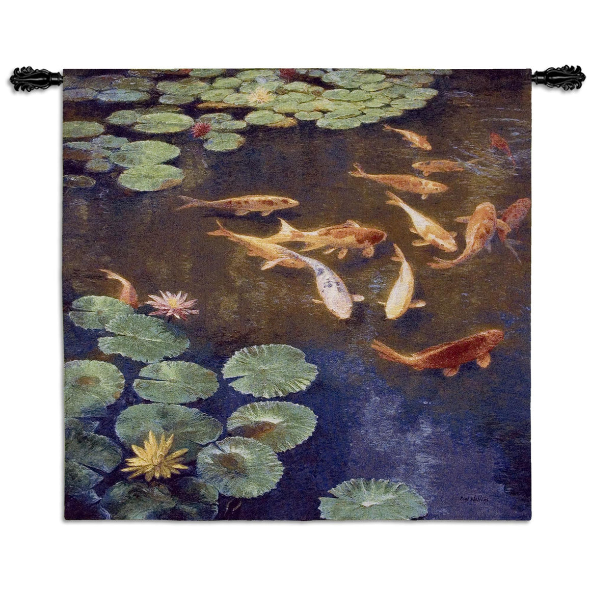 Inclinations Koi Pond Fish Wall Hanging