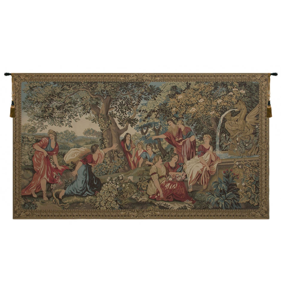 Green Eurydice Wall Hanging Tapestry