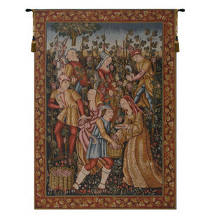Vendanges French Wall Tapestry
