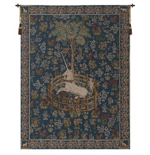 Licorne Captive II French Wall Tapestry