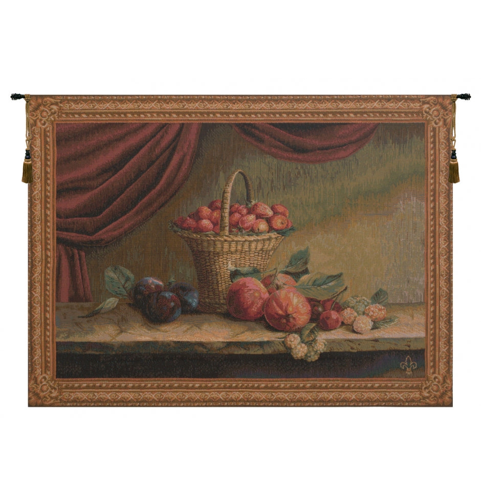 Basket of Strawberries Fraise French Home Decoration