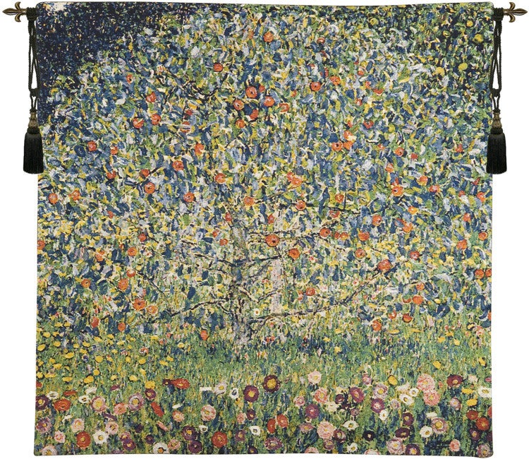 Apple Tree Klimt European Wall Hanging Tapestry