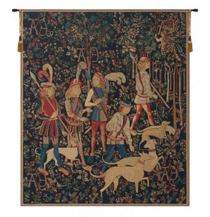 The Hunt Amour Eternelle European Hanging Wall Tapestry