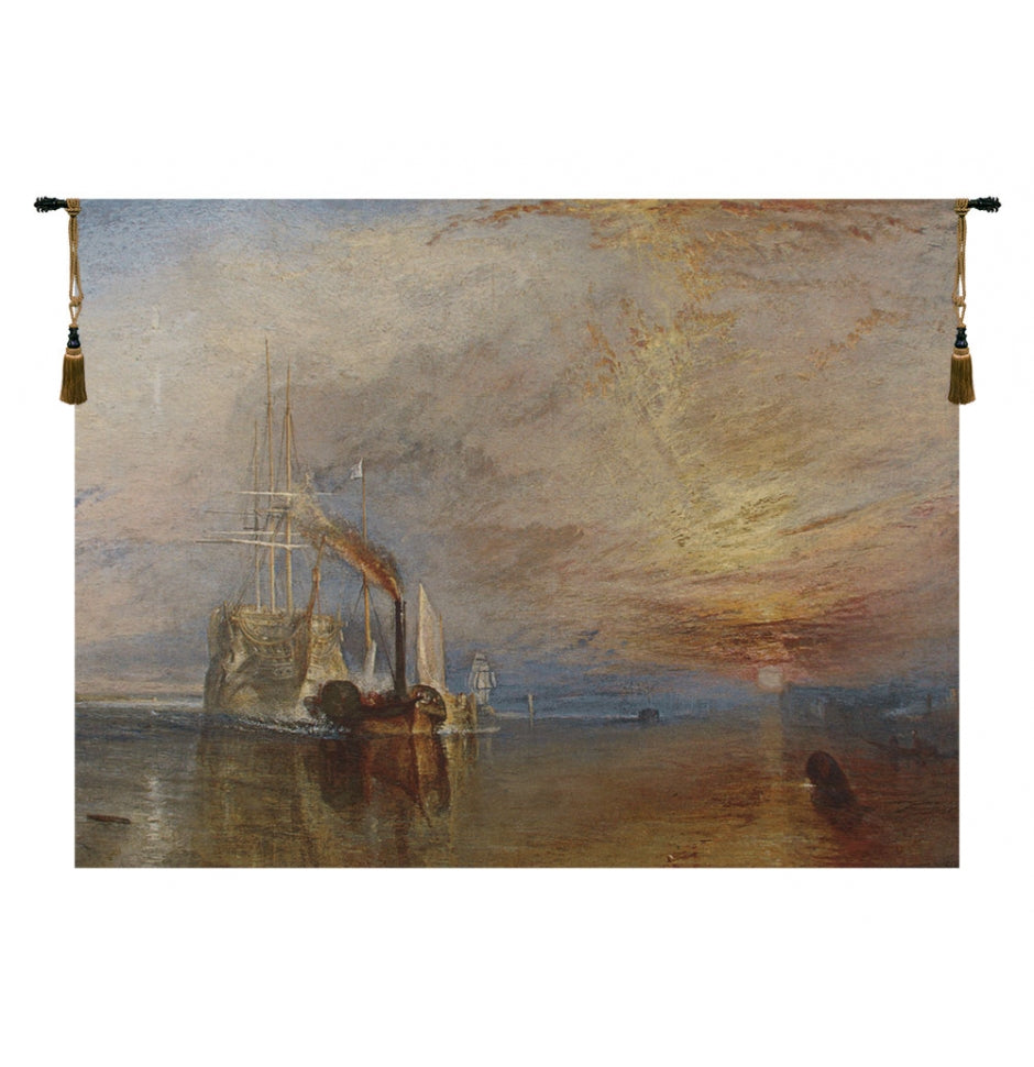 The Fighting Temeraire European Hanging Wall Tapestry