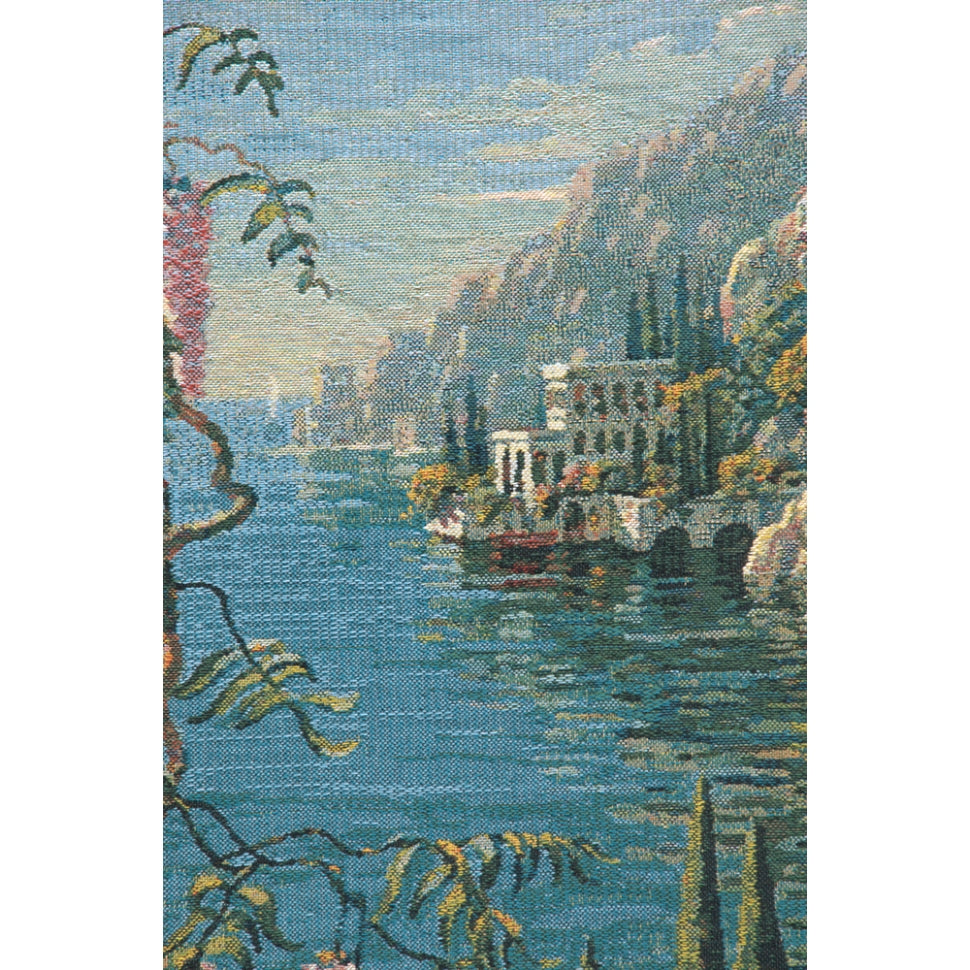 Villa In Capri European Hanging Wall Tapestry