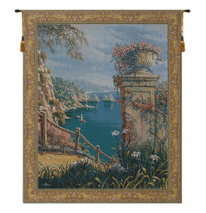Capri Vista European Hanging Wall Tapestry