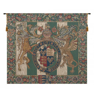 Royal Arms of England European Wall Hanging Tapestry