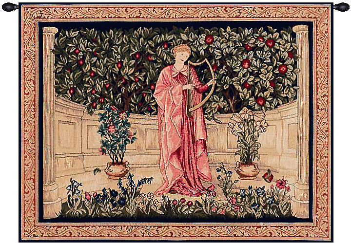 The Minstrel French Decor Wall Tapestry