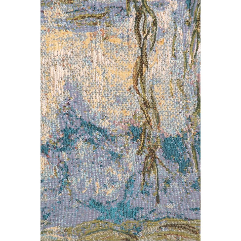 Blue Garden Monet Water Lily Home Accent