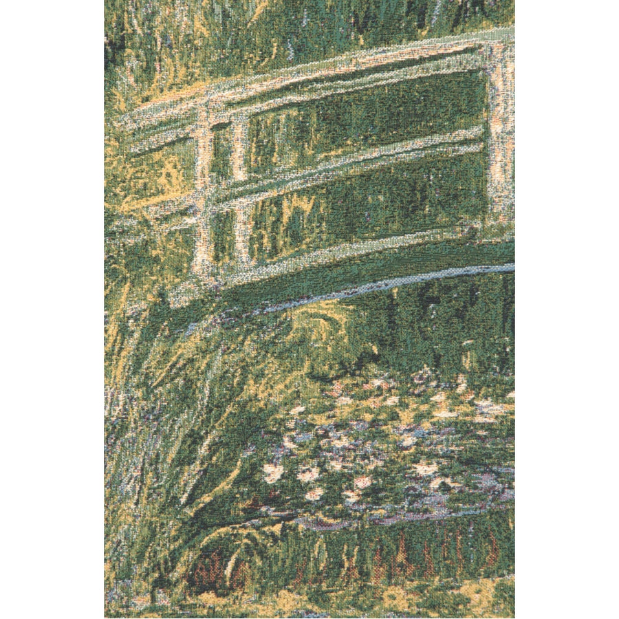 Bridge At Giverny by Monet European Wall Hanging Tapestry