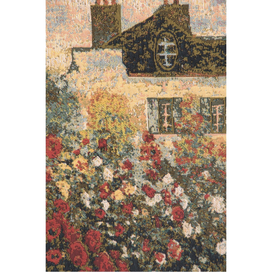 The House Of Claude Monet European Wall Hanging Tapestry