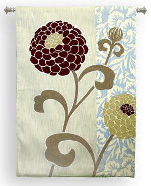Large Floral Wall Tapestry