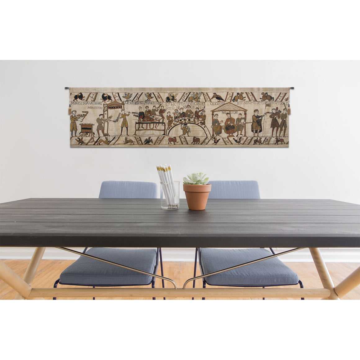 Bayeux Banquet European Hanging Wall Tapestry