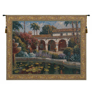Mission Reflection European Hanging Wall Tapestry
