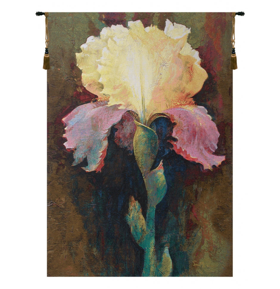 Cream Lydia by Simon Bull European Hanging Wall Tapestry