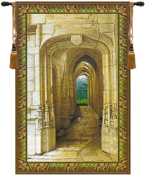 Garden Archway Decorative Wall Hanging Tapestry