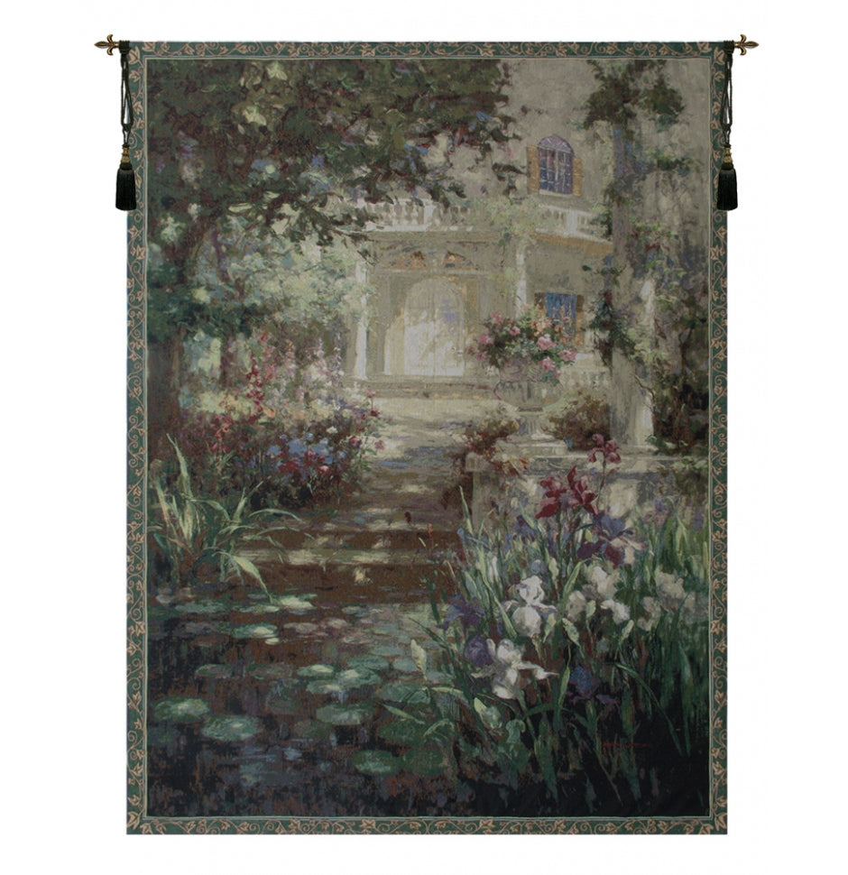 Green Ivy Column Decorative Wall Hanging Tapestry