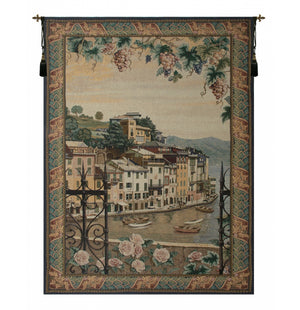 Cream Portofino Decorative Wall Hanging Tapestry