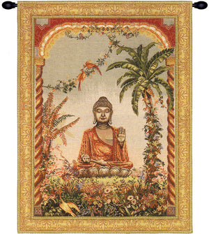 Gold Buddha French Decor Wall Tapestry