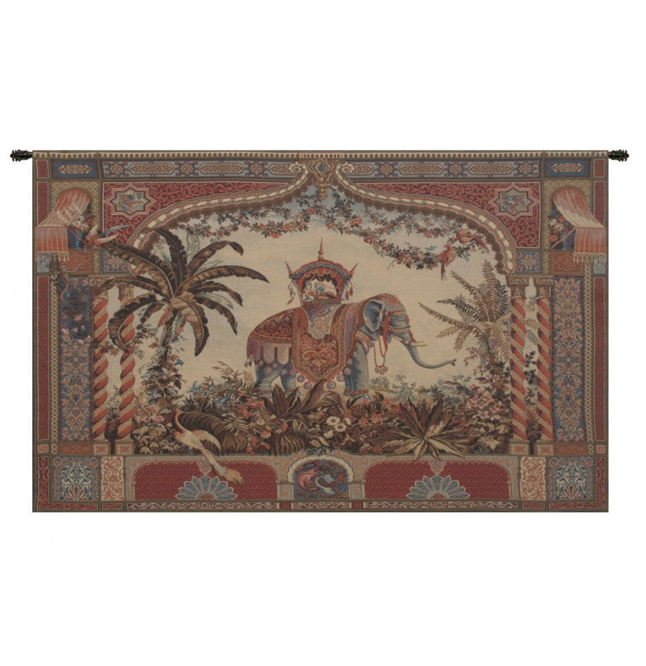 The Elephant European Wall Hanging Tapestry