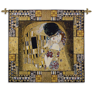 the kiss klimt wall hangings
