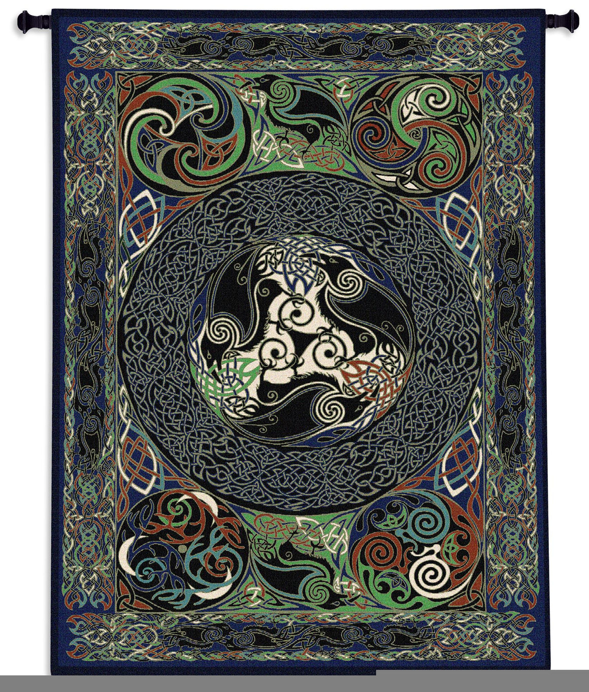 Raven Panel Tree of Life Tapestries