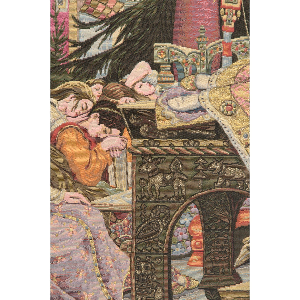 Sleeping Beauty Italian Italian Wall Hanging Tapestry
