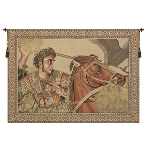Alexander The Great Italian Wall Hanging Tapestry