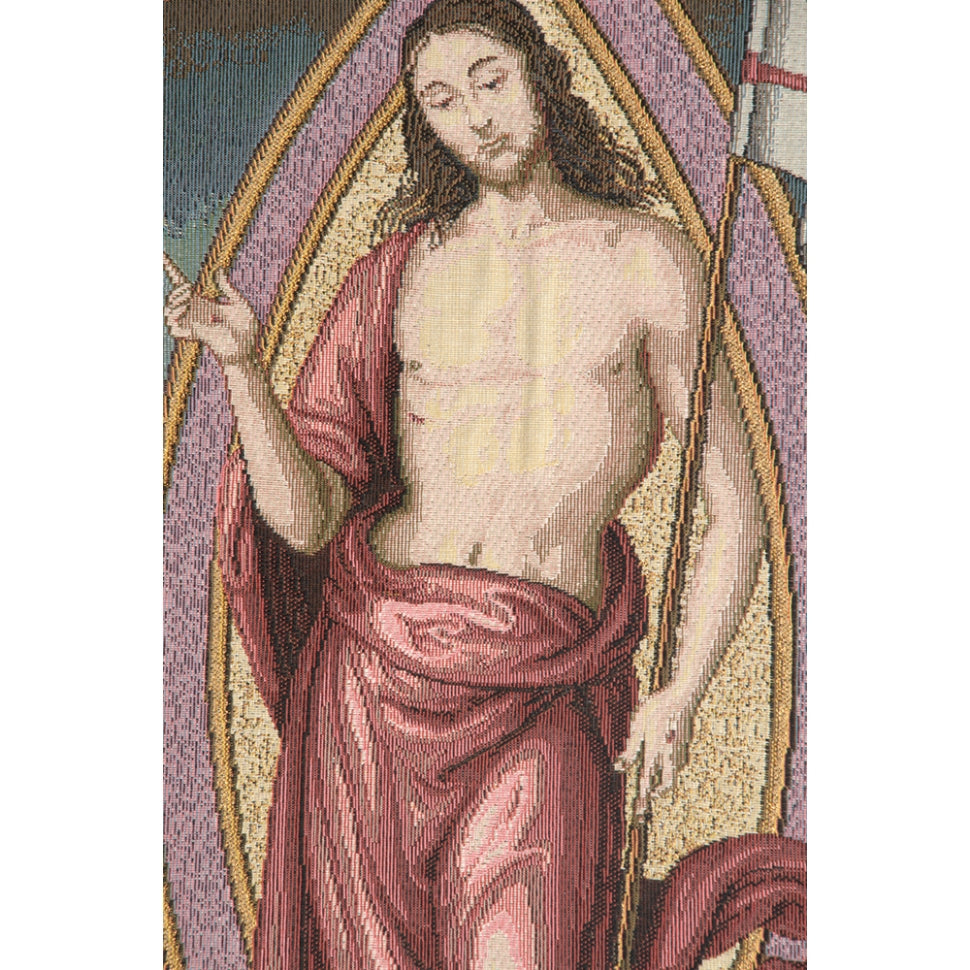 Jesus Woven Wall Tapestry