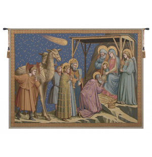 Adoration Italian Wall Hanging Tapestry