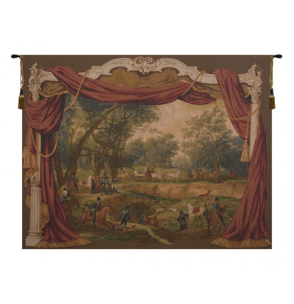 Promenade Napoleonienne French Decor Wall Tapestry