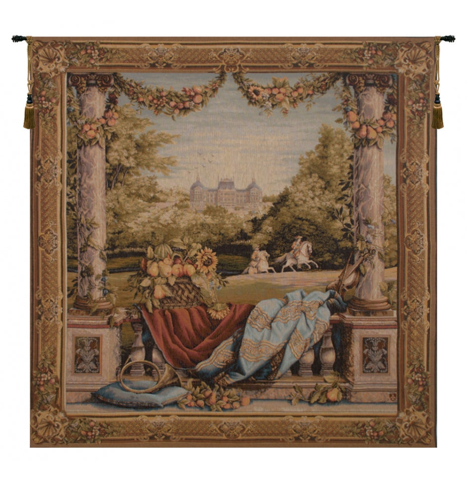Chateau Bellevue French Wall Tapestry