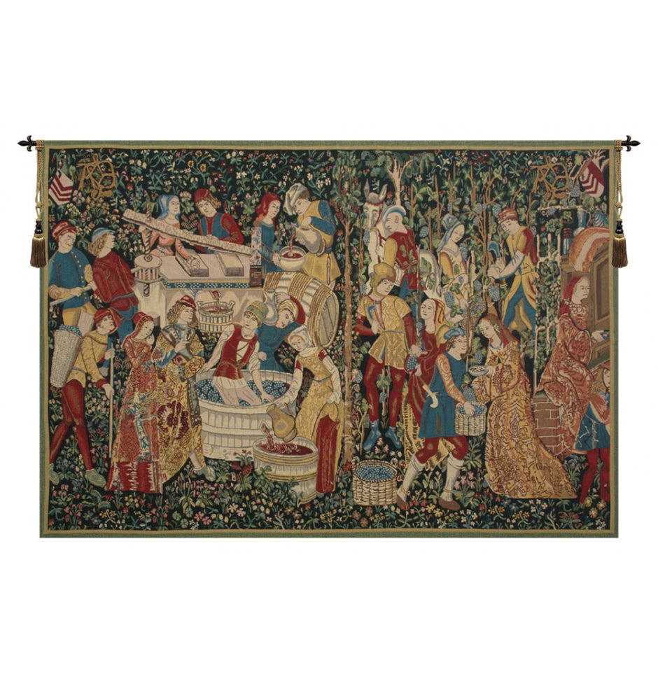 Vendages II Wall Decor Tapestry