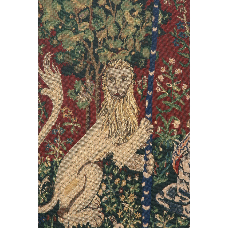 Lady and the Unicorn Large Cotton Wall Decor Tapestry