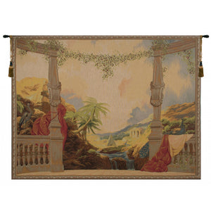 Gobelins Style Panoramique Wall Hanging Decor