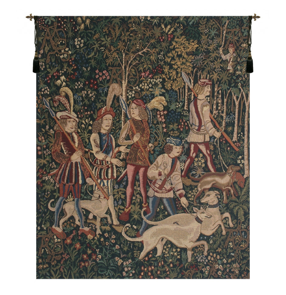 Unicorn Hunt Wall Decor Tapestry