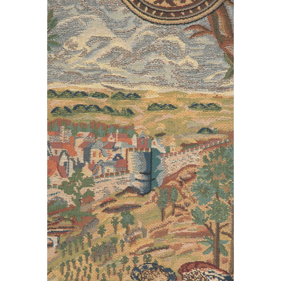 Vieux Brussels Right Side Wall Hanging Tapestry