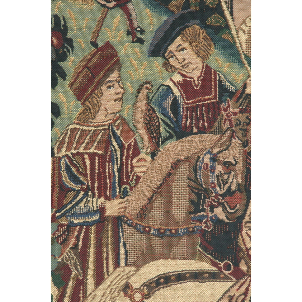 Large Medieval Hunting Design Textile