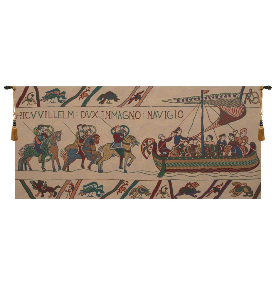 Bayeux Navigio Cotton Wall Tapestry