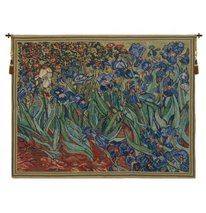 Les Iris Wall Tapestry