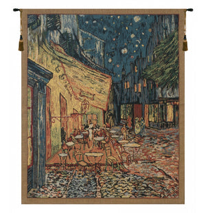 Van Gogh Terrace Wall Decorating Tapestry