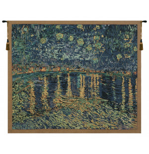 Van Gogh Starry Night Over the Rhone Wall Hanging Decor