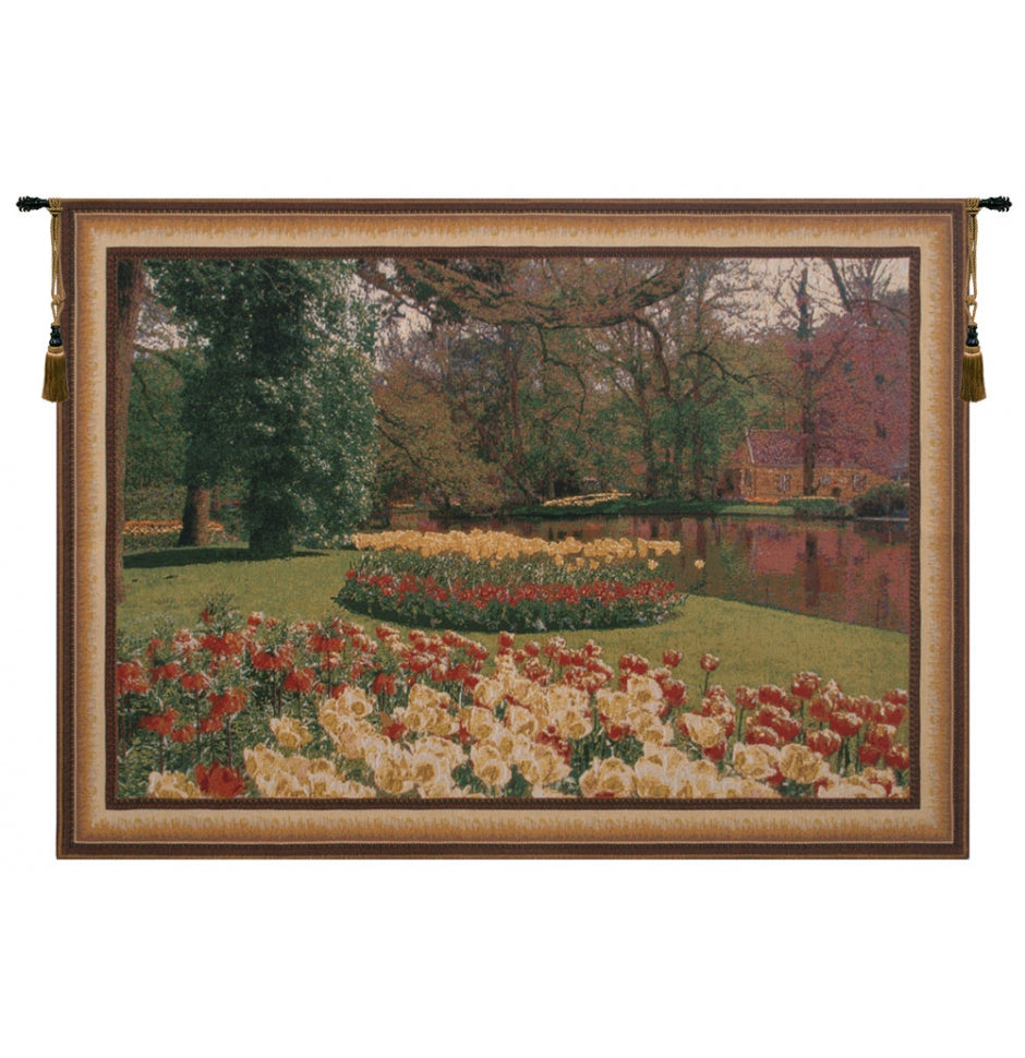 Keukenhof II Cotton Wall Tapestry