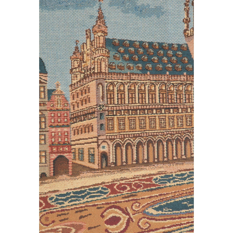 Large Blue Classic Palace Motif for Decorating