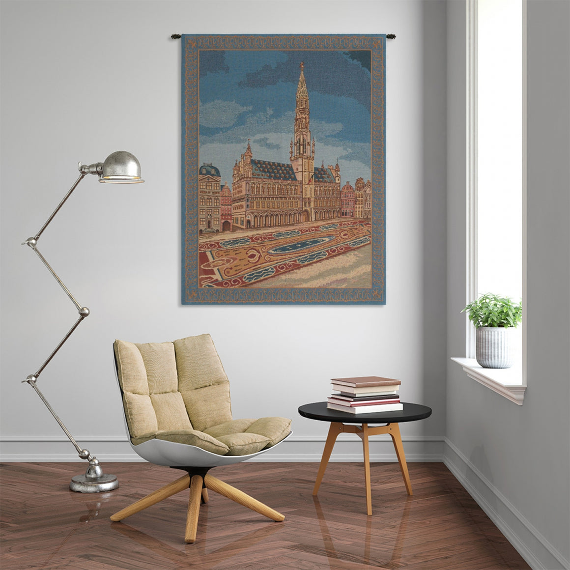 Brussels Place II Tapestry Wall Hanging