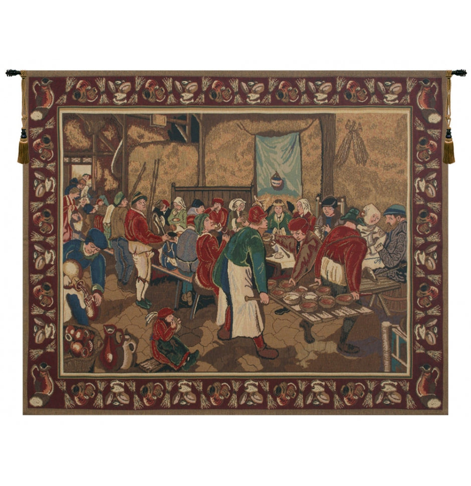 Wedding Feast Wall Tapestry